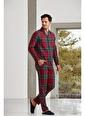 Nautica Ntm009 Pijama Takım Kırmızı